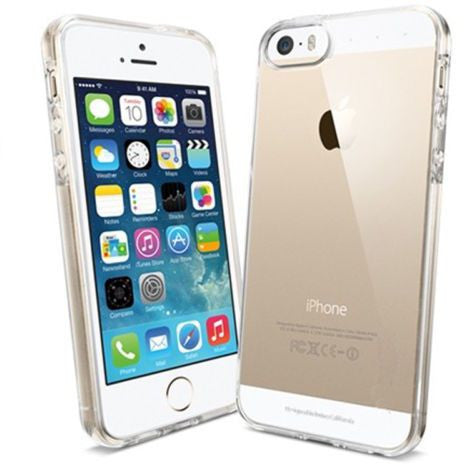 Ultra Thin Slim Crystal Clear Soft TPU Cover Case Skin for Apple iPhone 5 5S