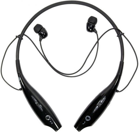 Universal Bluetooth Wireless Headset Earphone HEADSET FOR GALAXY S2 S3 S4 MINI NOTE ACE Black