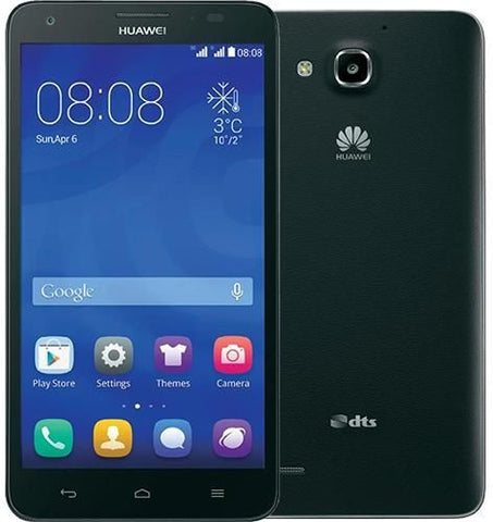 Huawei Ascend G750 Dual SIM (8GB, Android OS,  3G + Wifi, Black)