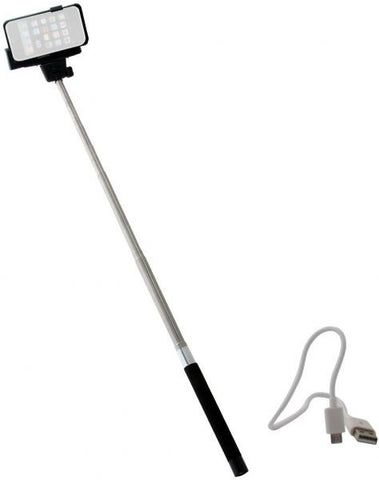 Selfi Z07-5 stick monopod with built-inBluetooth and battery