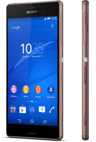 Sony Xperia Z3 (16GB, Android OS, 4G LTE + Wifi, Copper)