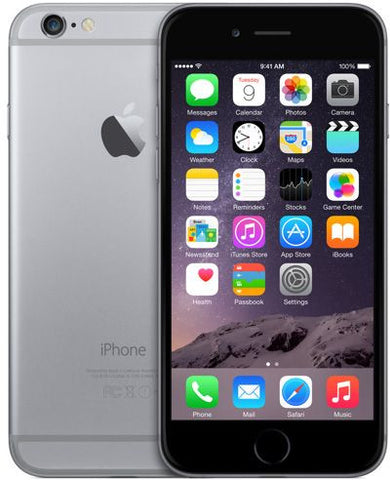 Apple iPhone 6 With FaceTime - 16GB, 4G LTE, Space Gray