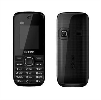 G-Tide G008 Dual Sim - Up To 8GB, 2G, Black