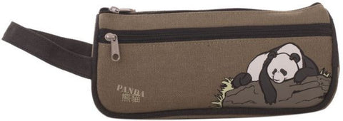 Sugar 32493 Pencil Pouch Panda-Brown
