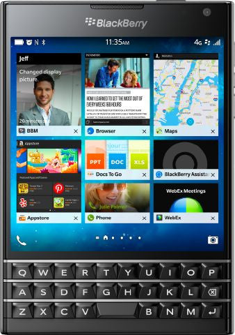 BlackBerry Passport - 32GB, 4G LTE, Black