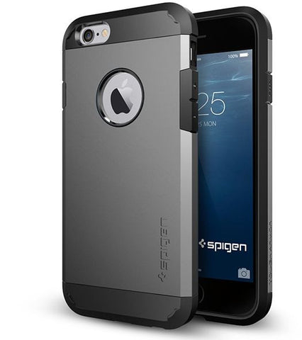 Spigen Apple iPhone 6 (4.7 inch) Tough Armor Case / Cover [Gun Metal]