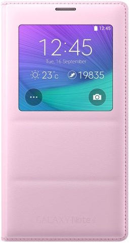 Samsung Galaxy Note 4 S View Cover, Pink
