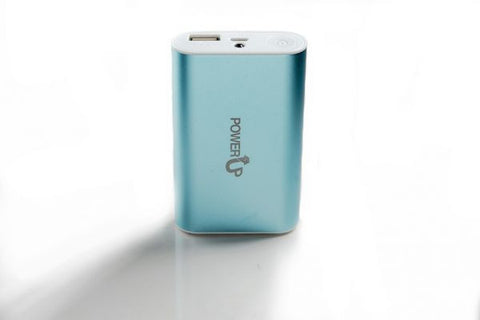 Power UP PU-6000 Power Bank 6000 mAh Blue