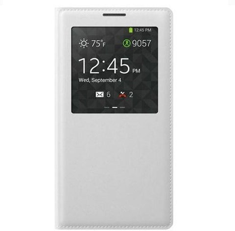 (S-View Flip cover for Samsung Galaxy Note 3 Neo N7505 N7500 )white