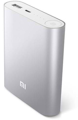 Xiaomi 10400 mAh Portable Power Bank for Smartphone (MS26) - Silver