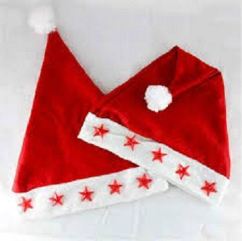 ( Christmas  hair cap with  light )2PCs