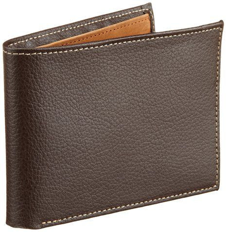 Perry Ellis Men's Ny Simple slim Bifold Wallet
