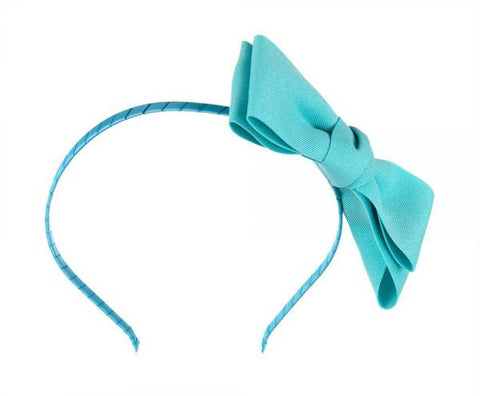 Azalea AZ-HB0001 Bow Head Band For Women-Aqua