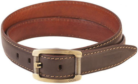Oryx 11-07-0102-03 Belt For Men-Leather, Brown