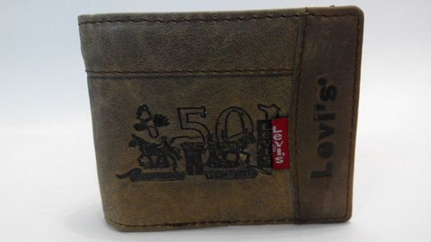 Levi's genuine leather wallet for men