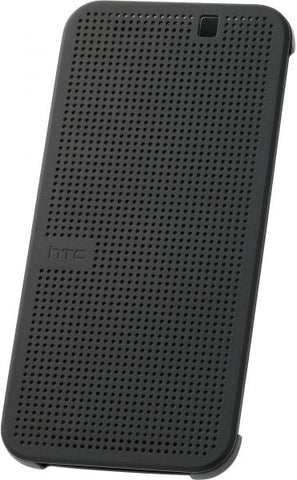 HTC One M9 Premium Dot View Cover – Grey