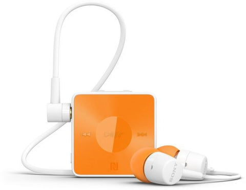 Sony Stereo Bluetooth Headset SBH20 (NFC, Bluetooth) White - Orange