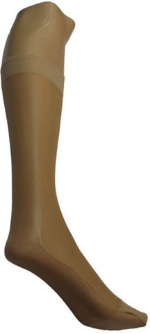 Silvy Short Voiles Stockings - Beige, Free Size