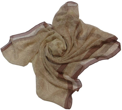 Scarf for Women - Beige, Free Size
