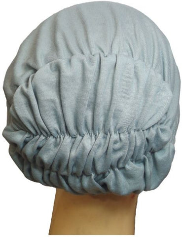 Cotton Bonnet for Women - Light Gray, Free Size