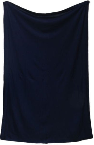 Bisha Lycra Scarf for Women - Navy, Free Size