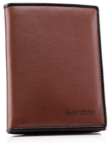 TeemZone Genuine Leather Wallet For Mens Made Of Cowhide