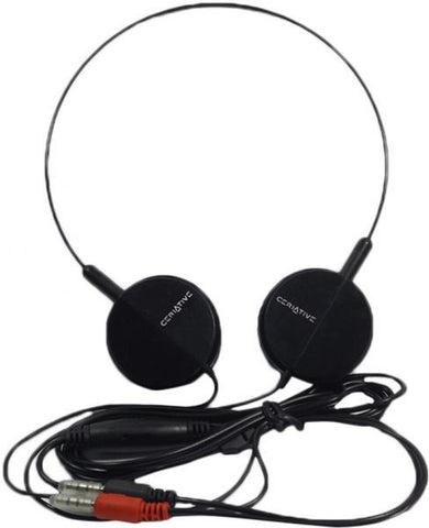 Ceriative Over the Ear Headset - Black