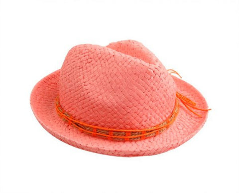 Funky Fish T-57_C Hat For Women-Pink