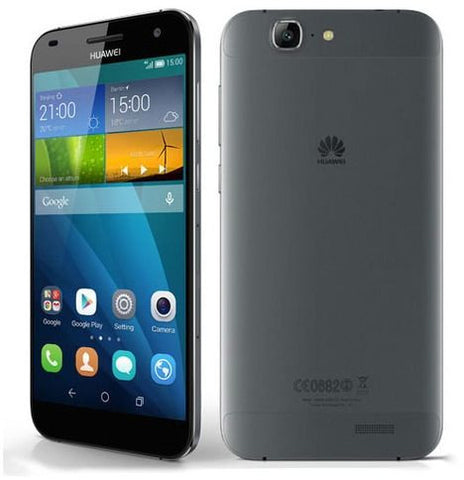 Huawei Ascend G7 Smartphone - 16 GB, 3G + WiFi, Gray