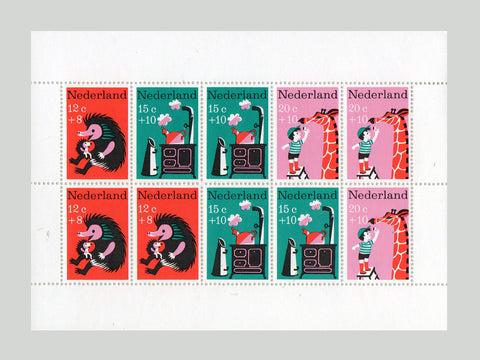 Animal Stamp Block. 1967