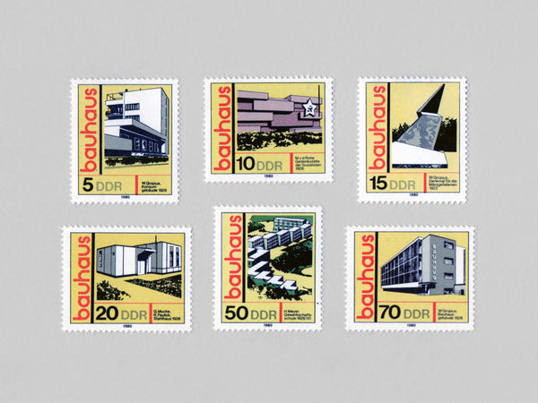Bauhaus Stamp Set