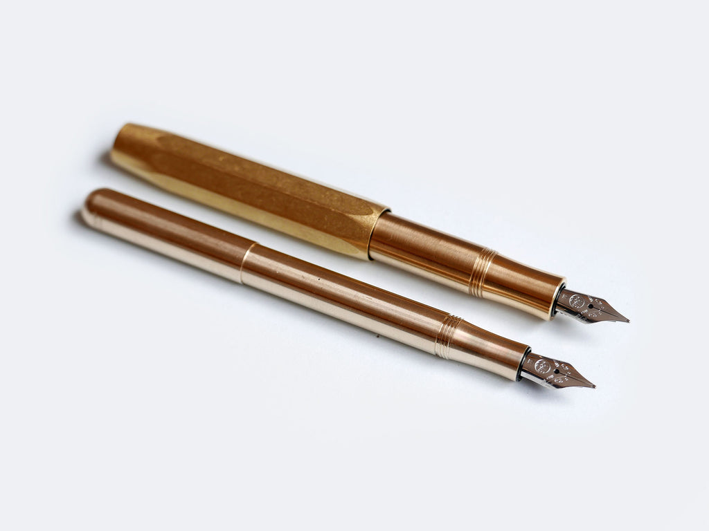 Brass Kaweco Fountain Pens