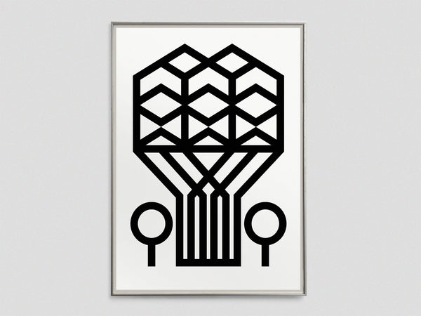 Brutal Icon Screen Print
