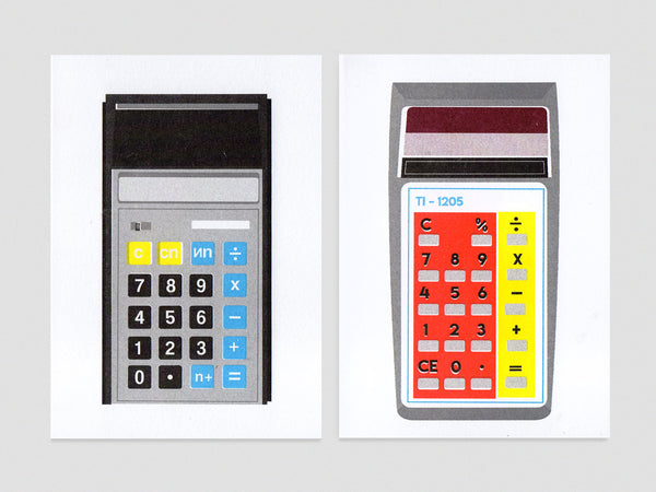 Calculator Cards