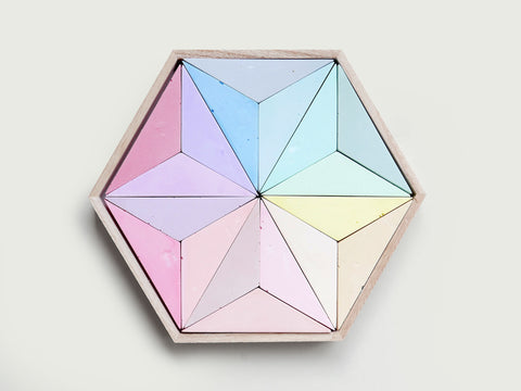Chalk Hexagon