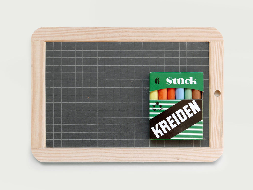 Gridded Chalk Board