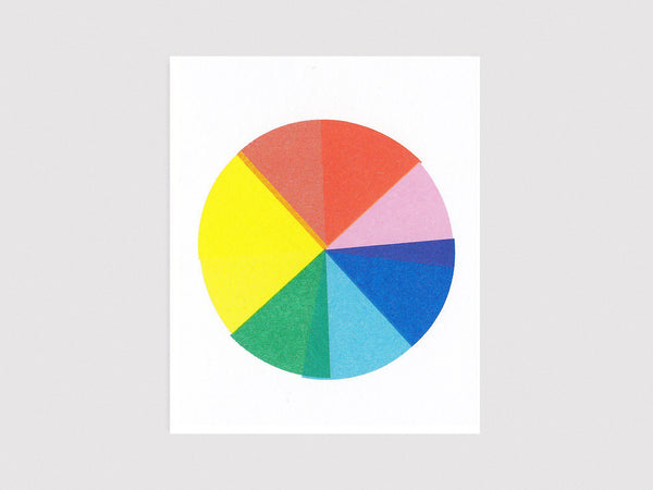 Colour Wheel Card
