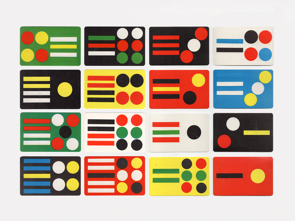 Spots & Stripes Cards (1958)