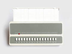 Telephone Index Calendar