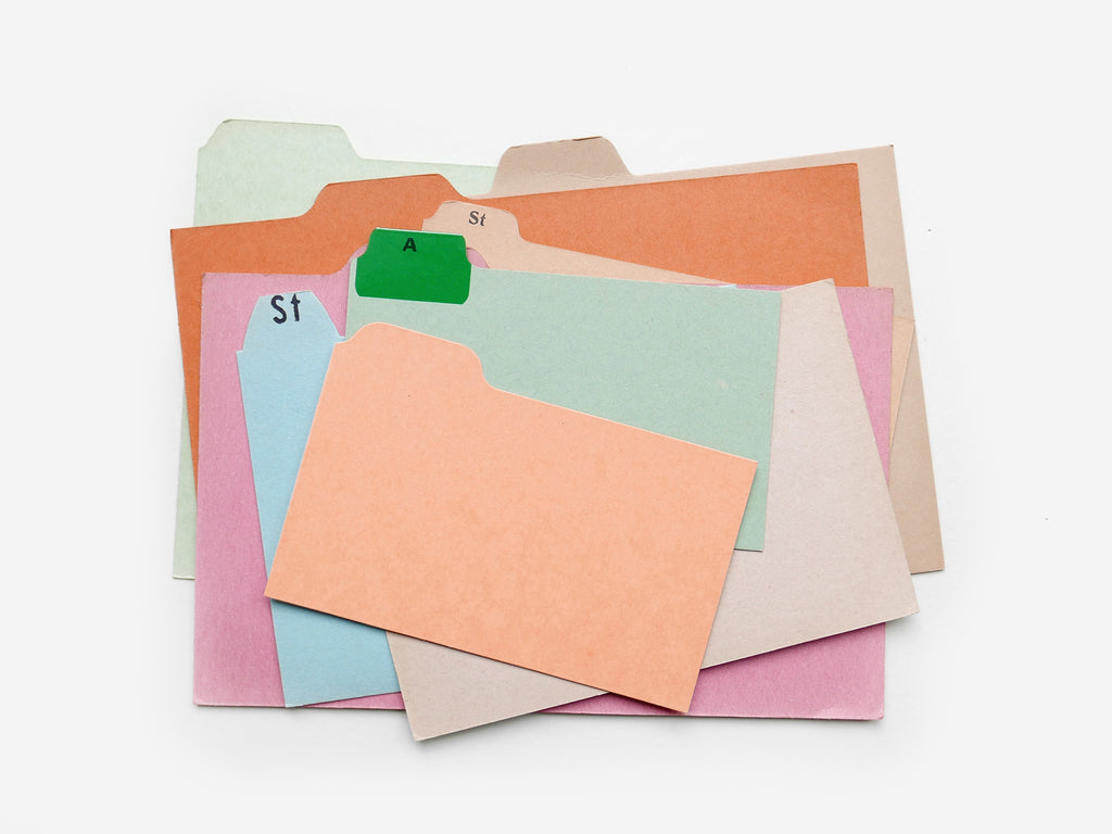 Index Card set (x6)