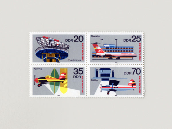 Airline Stamp Block