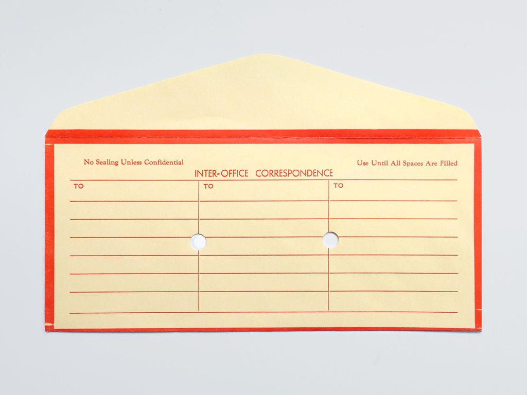 Inter Office Envelope (1970s)