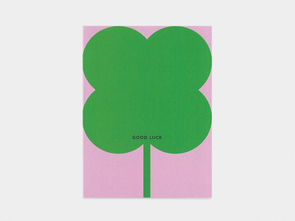 Clover Luck Card