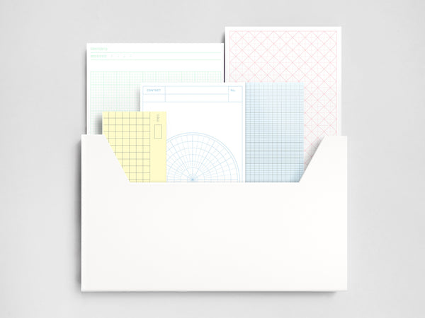 Mail Box Graph Envelopes (x20)