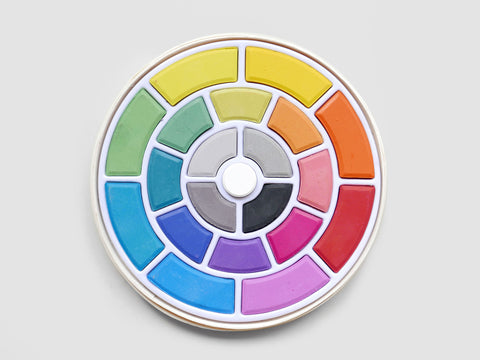 Colour Wheel Paint Set
