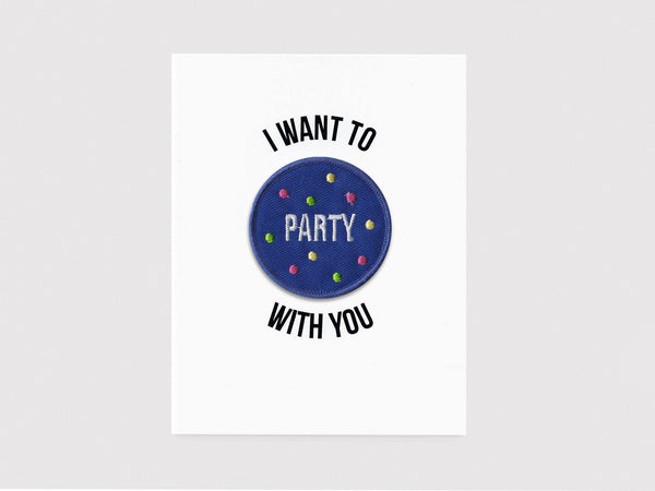 Party Patch Card