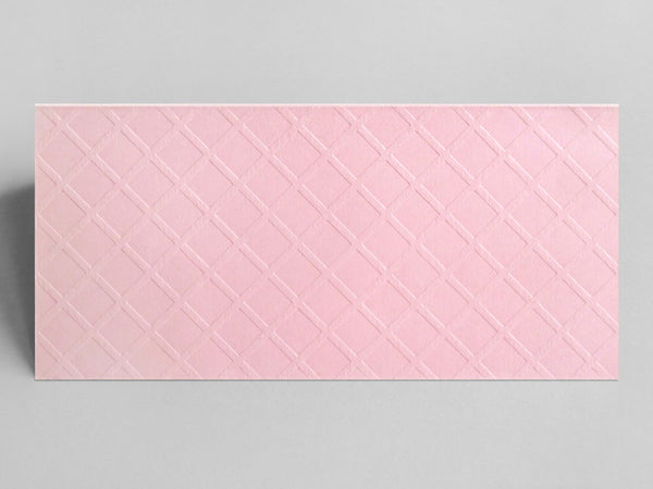 Pink Wafer Birthday Card