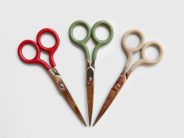 Rubber Handle Scissors