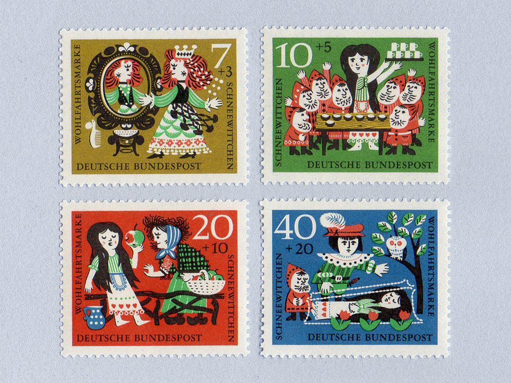 Snow White Stamp Set (1960)