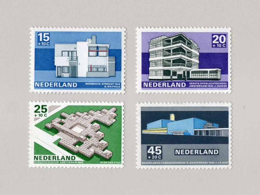 Dutch Architect Stamps (1969)